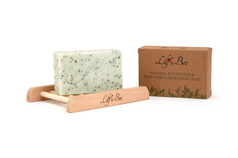 Natural Eucalyptus & Poppy Seed Exfoliating Soap