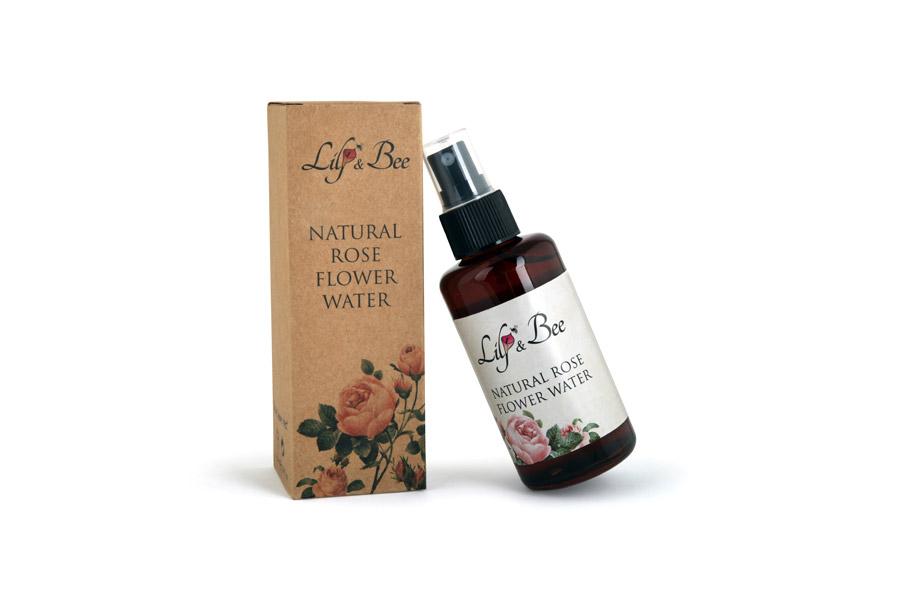 Natural Rose Flower Water