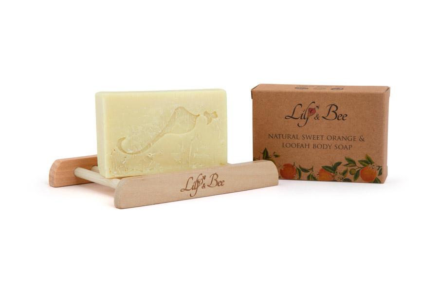 Natural Sweet Orange & Loofah Body Soap